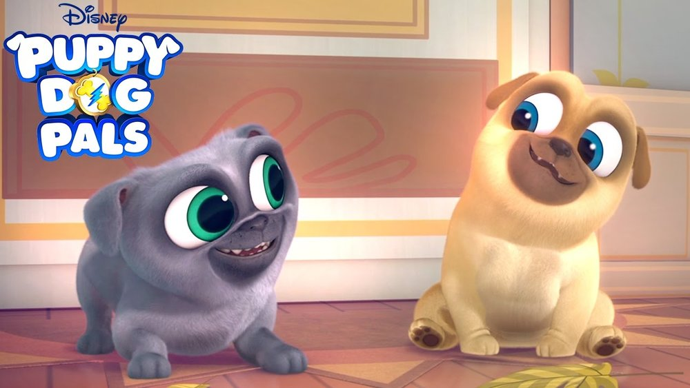 Pug Cartoon Comes To Disney!