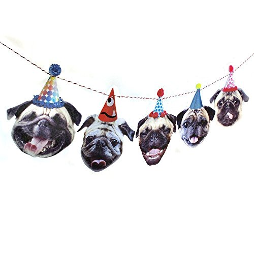 Pug Birthday Decoration