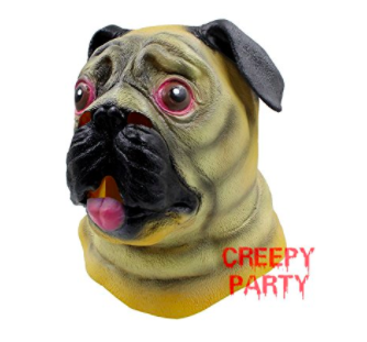 Party Mask Pug Costume For Kids