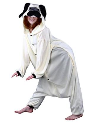 Adult Size Pug Costume Onesie