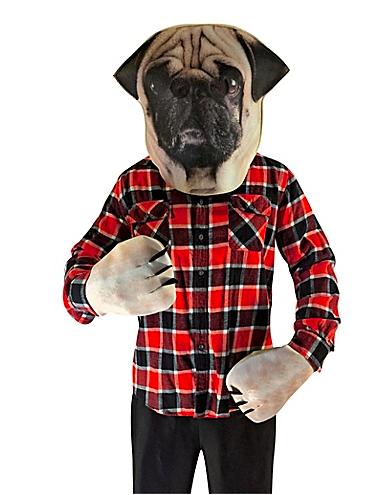 see through pug kids costume