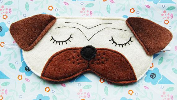 Funny Pug Kids Mask