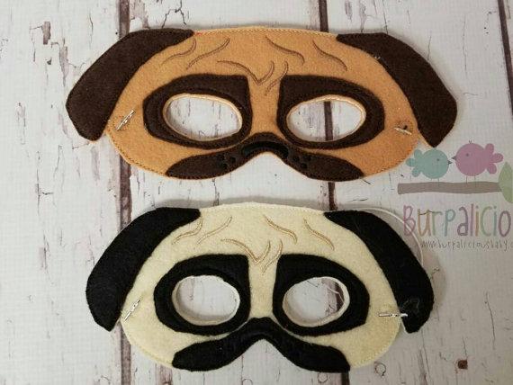 Pug Kids Mask On Etsy