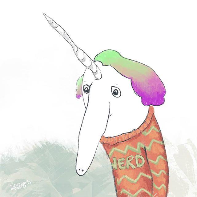 Be proud of who you are! . #unicornnerd . 🦄🍕🦄 . #comic #illustrationartists #childrensillustrator #childrensbook #jokes #cartoonjokes  #funnycartoon #cartoonjoke  @comics @igcomicstore #comicmeme #meme #procreate #comicstrip #illustration #illustrationdaily #cartoon #comicart  #instacomics #digitalart #kidlit #kidlitart #unicorn #unicorns #unicorntattoo #unicorn🦄 #unicorny #nerds #nerd #unicorndrawing @weloveillustration @children_illustrations @magical.illustrations @illustration_best @characters.design