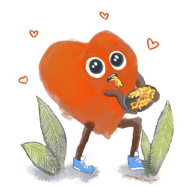 Pizza Love . ❤️🍕❤️ . .  #pizzadrawing #pizzacartoon #pizzameme #pizza #comic #illustrationartists #childrensillustrator #childrensbook #jokes #cartoonjokes  #funnycartoon #cartoonjoke  @comics @igcomicstore #comicmeme #meme #procreate #comicstrip #illustration #illustrationdaily #cartoon #comicart  #instacomics #digitalart #kidlit #kidlitart  #love #valentines #pizzalove #hearttattoo  @weloveillustration @children_illustrations @magical.illustrations @illustration_best @characters.design