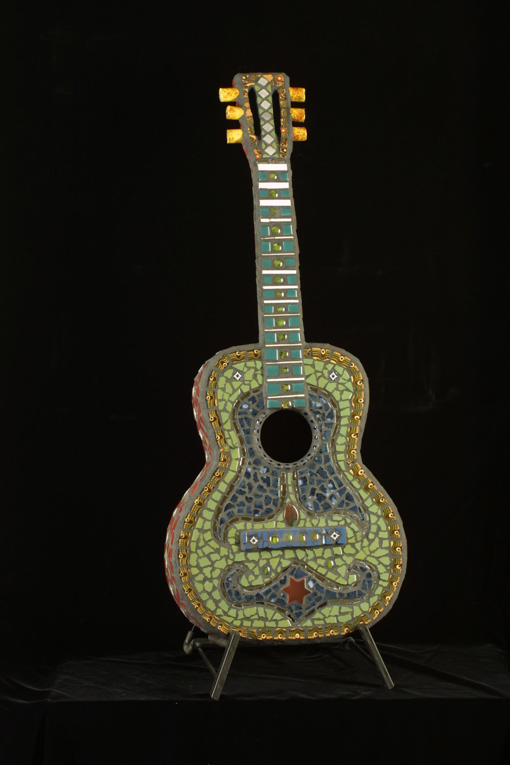 Custom Mosaic Guitar