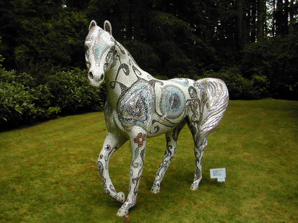 Life Size Horse, Prince Tolerance