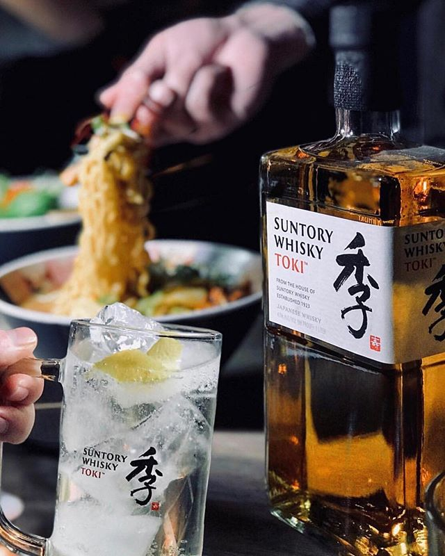 It's always Toki Time at Tonchin. @suntorytoki 📸 @dianaeatsnyc