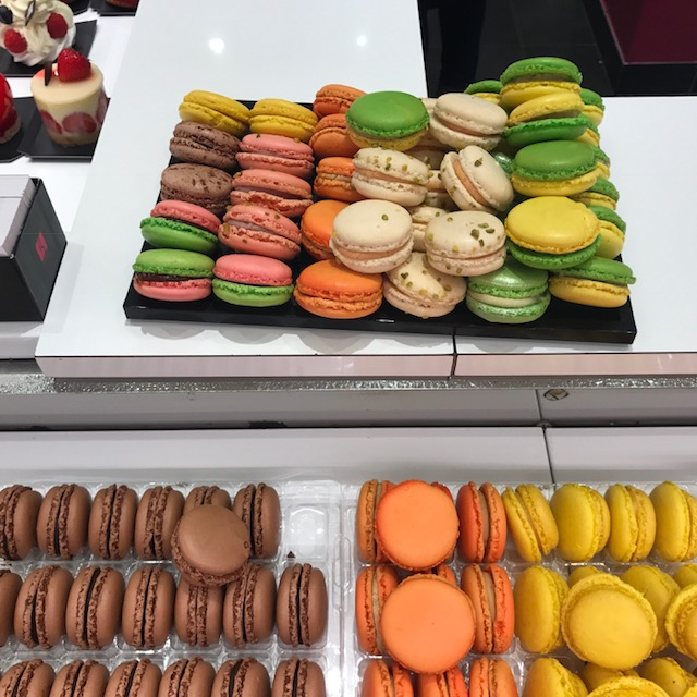 Tasty macaroons in France!