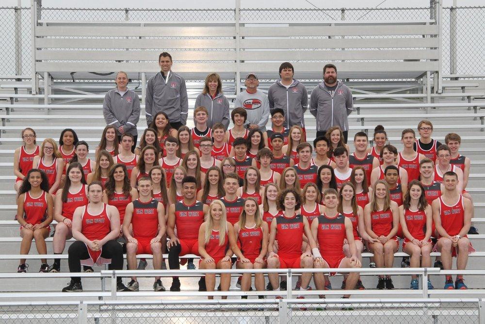 Van Wert High School Track Team