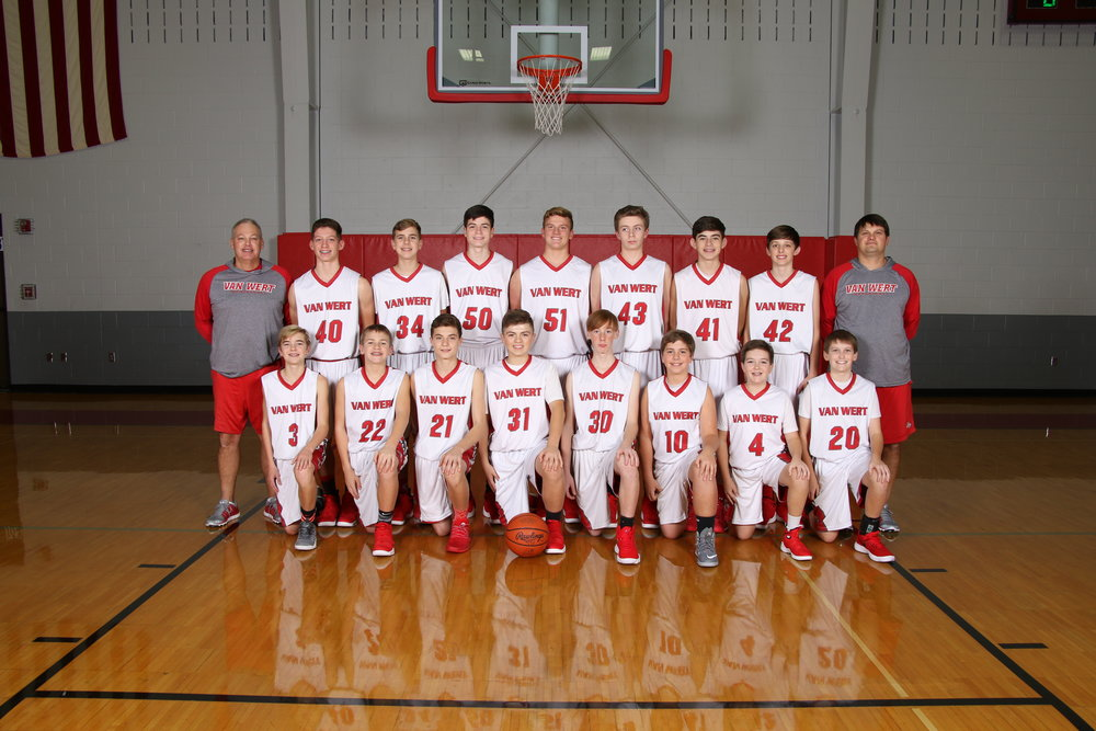 8th grade boys basketball team