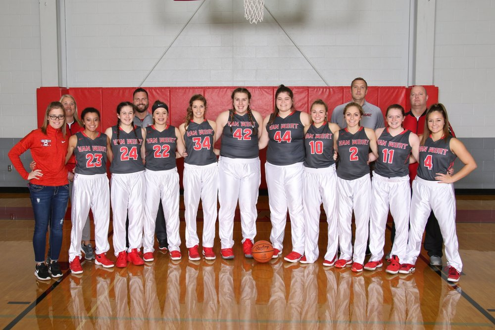 2018-2019 Girls basketball varsity team