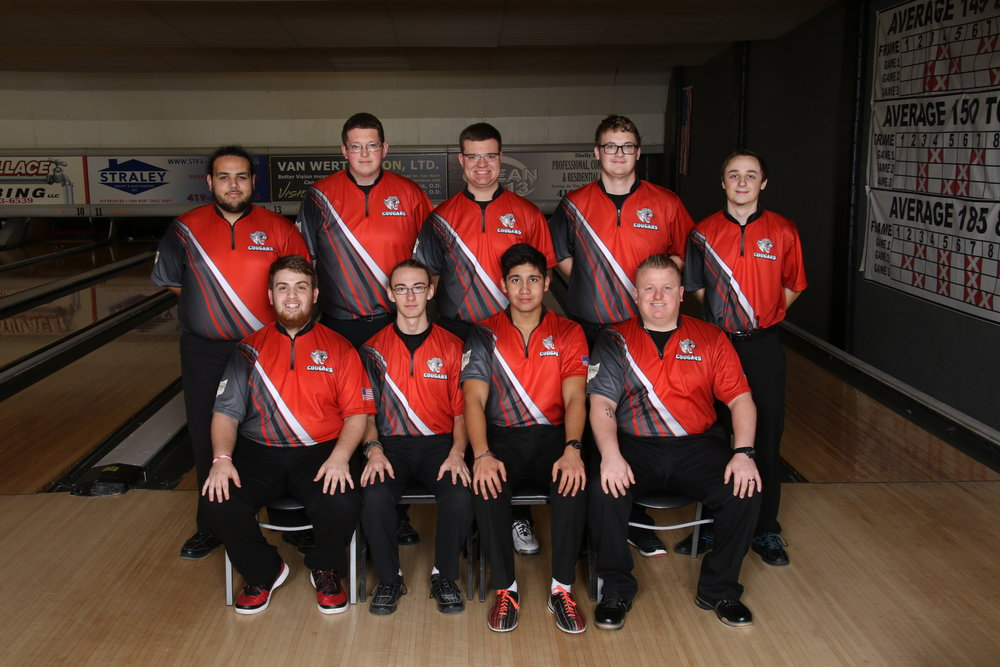Left to Right: Row 1: Ian Ellis, Nicholus McPhail, Jose Aguilar, Coach Blackmore Row 2: Derek Fanning, Troy Weaks, Nathan Bidlack, Collin Mosier, Ethan Brown