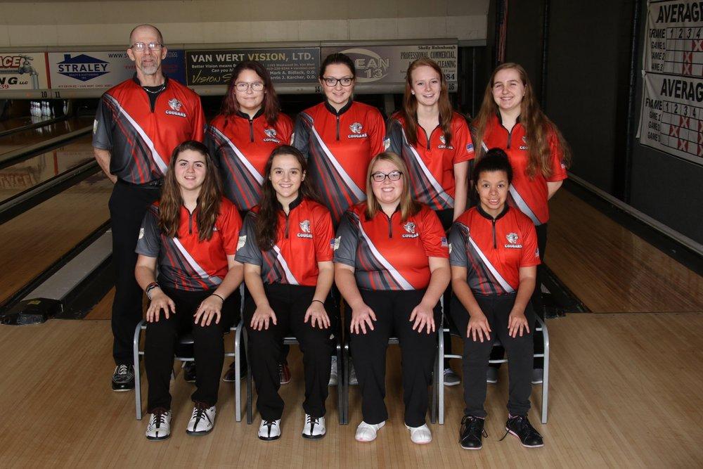 2018-2019 Varsity Girls Bowling Team