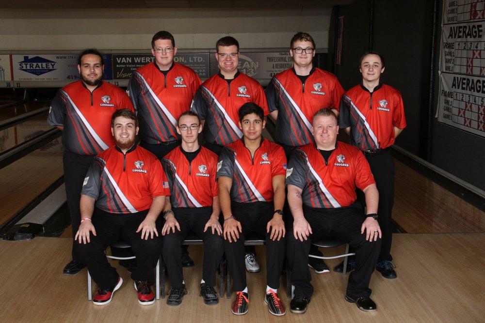 2018-2019 Varsity Boys Bowling Team
