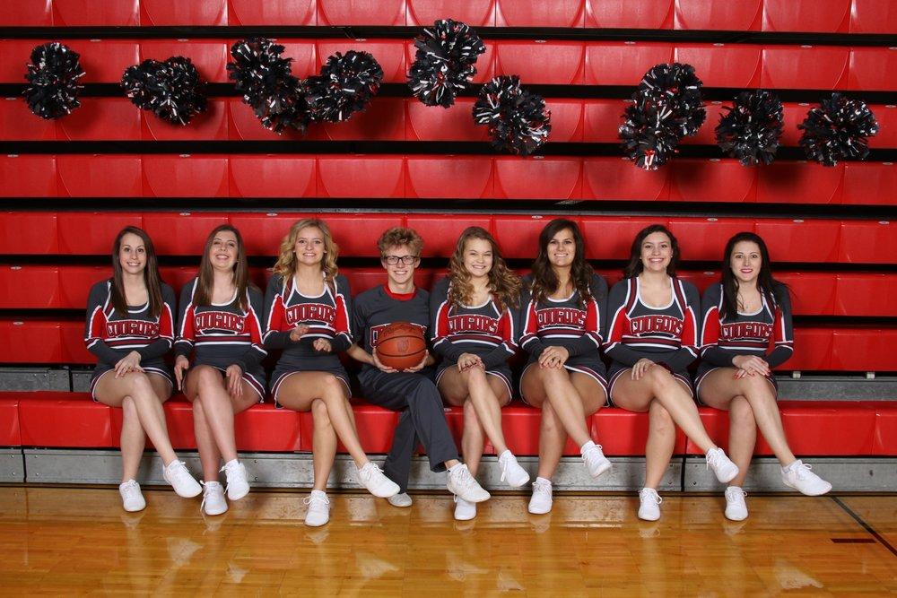 2018-2019 Varsity Cheerleading Squad