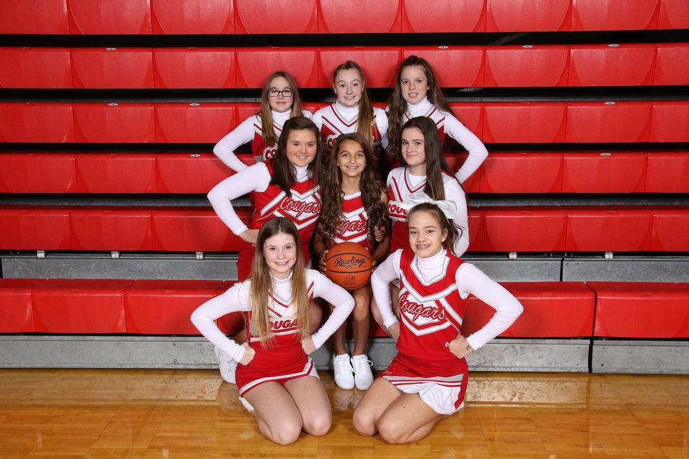 7th grade cheerleading squad