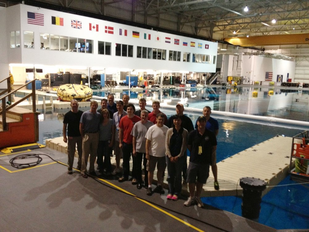 PLRP Neutral Buoyancy Lab (NBL) Ops Test, Houston