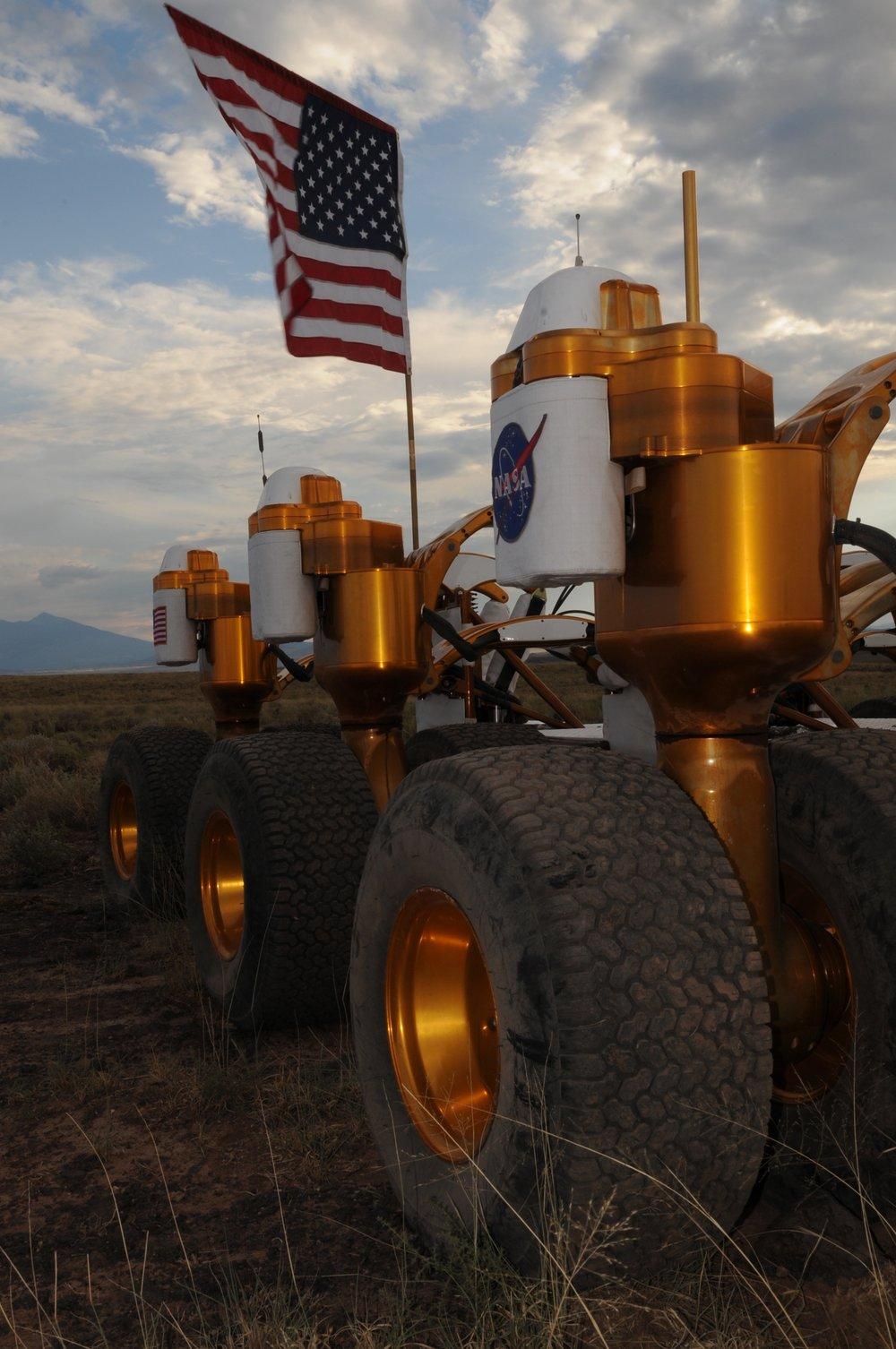 NASA mobility systems testing in Arizona