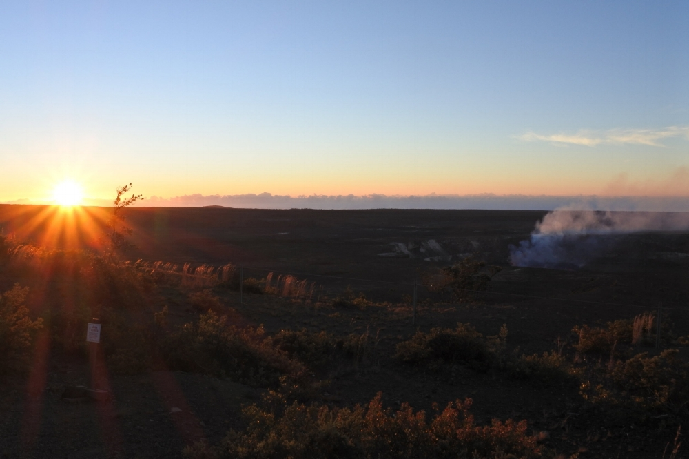 Kilauea Sunrise