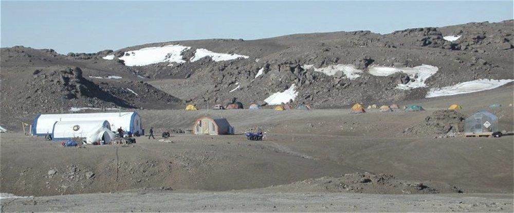 NASA Haughton Mars Project - Basecamp, Devon Island, Nunavut