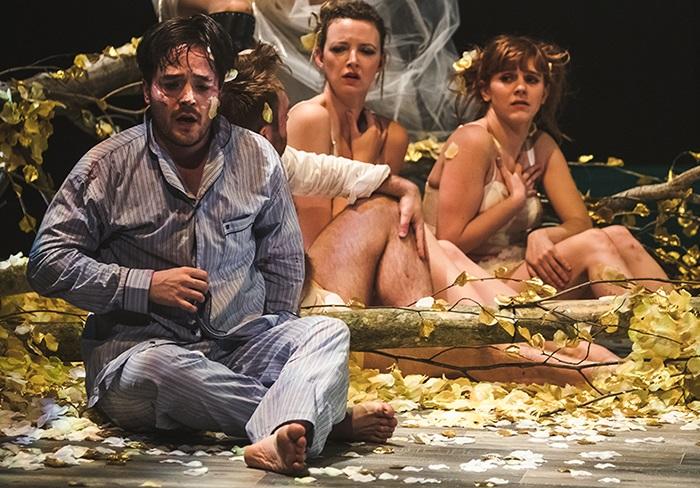 26 février 2019LE SONGE D'UNE NUIT D'ÉTÉ - THÉÂTRECe grand classique revisité de Shakespeare, alliant théâtre et cirque, est audacieux et spectaculaire! C'est un événement à ne pas manquer à Sherbrooke ! Vous serez charmés par ce conte lumineux entre le réel et le rêve, où la réflexion majeure porte sur la sincérité et la fidélité de l'amour. Vous serez témoins d'une jolie balade féérique dans une forêt étrange où se déchaînent des passions amoureuses. Sous l'effet d'un filtre d'amour va régner une confusion de quiproquos, de poursuites, de drôleries dans une ambiance festive.