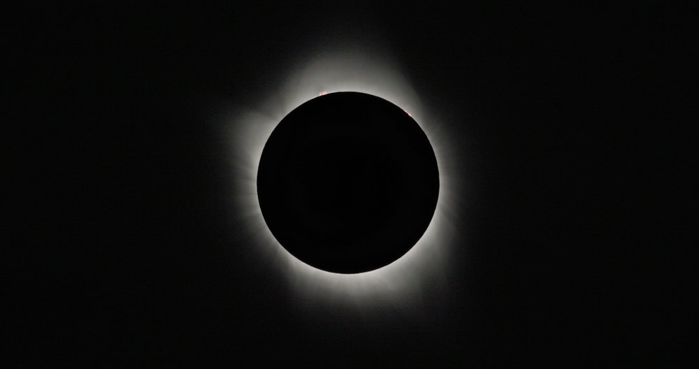 Total Solar Eclipse as photographed from Casper, Wyoming, August 21, 2017.