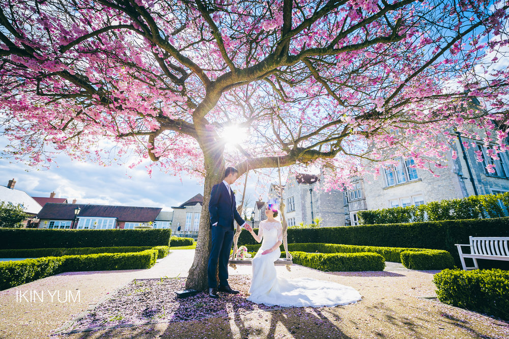 London Chinese Wedding Photographer - Froyle Park Wedding
