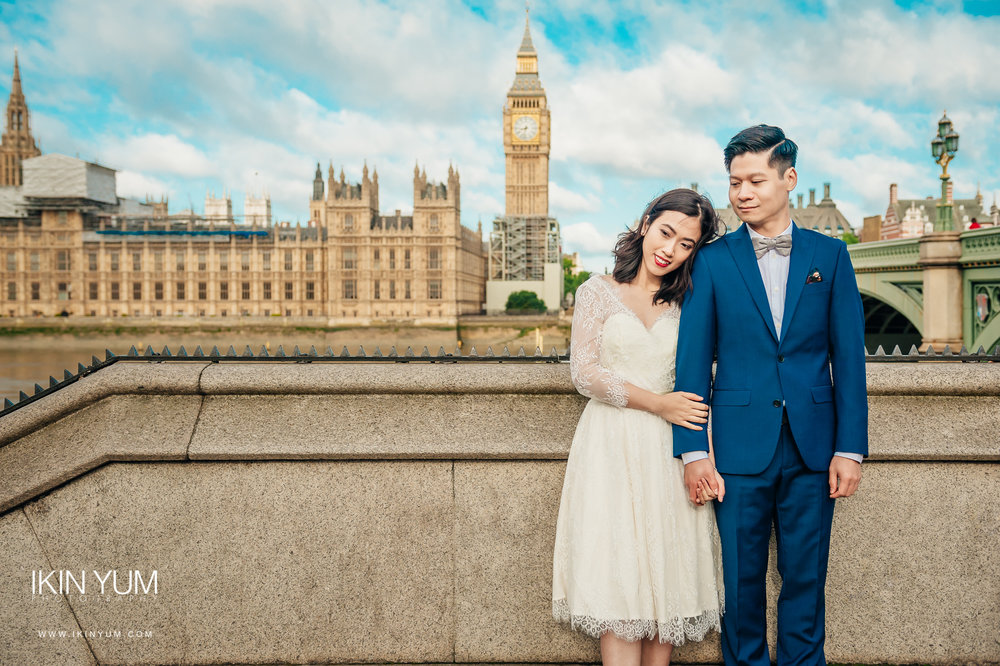 London Pre-Wedding Shoot - Chinese Wedding Photographer