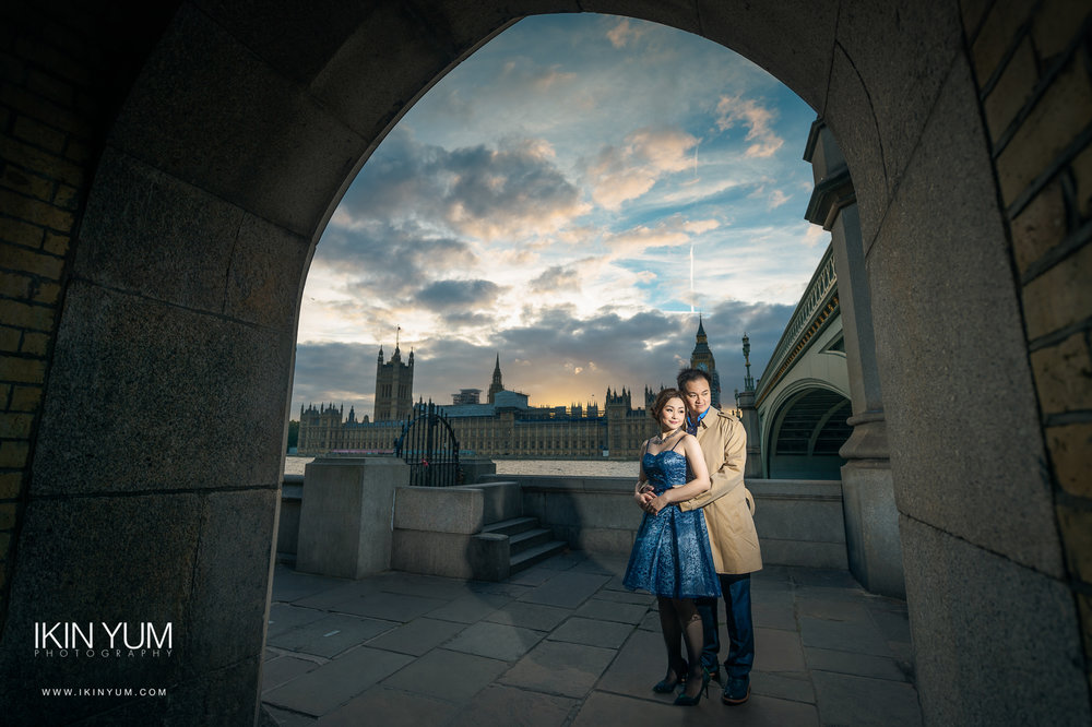 London Pre-Wedding Shoot - big ben - London