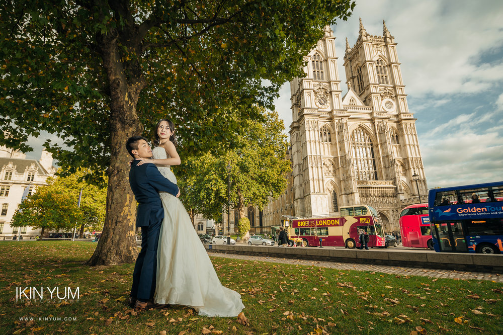 London Pre-Wedding Shoot - Westminster Abbey - London