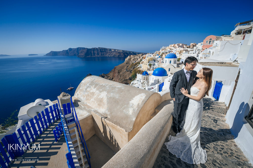 Santorini Pre-Wedding Shoot - London wedding photographer