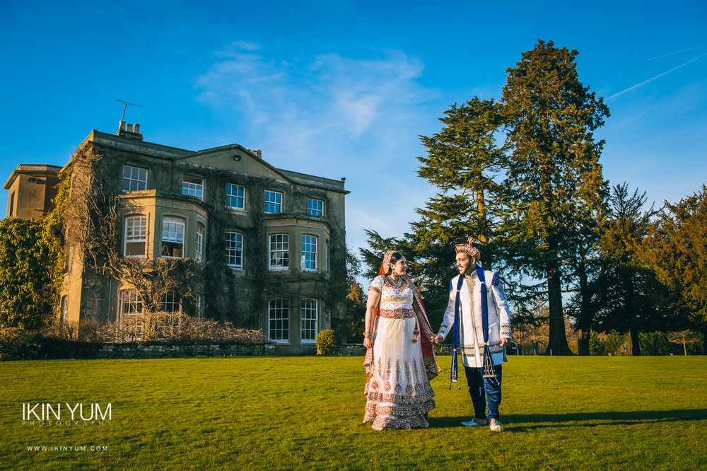 Northbrook Park Wedding - London Asian Wedding Photographer