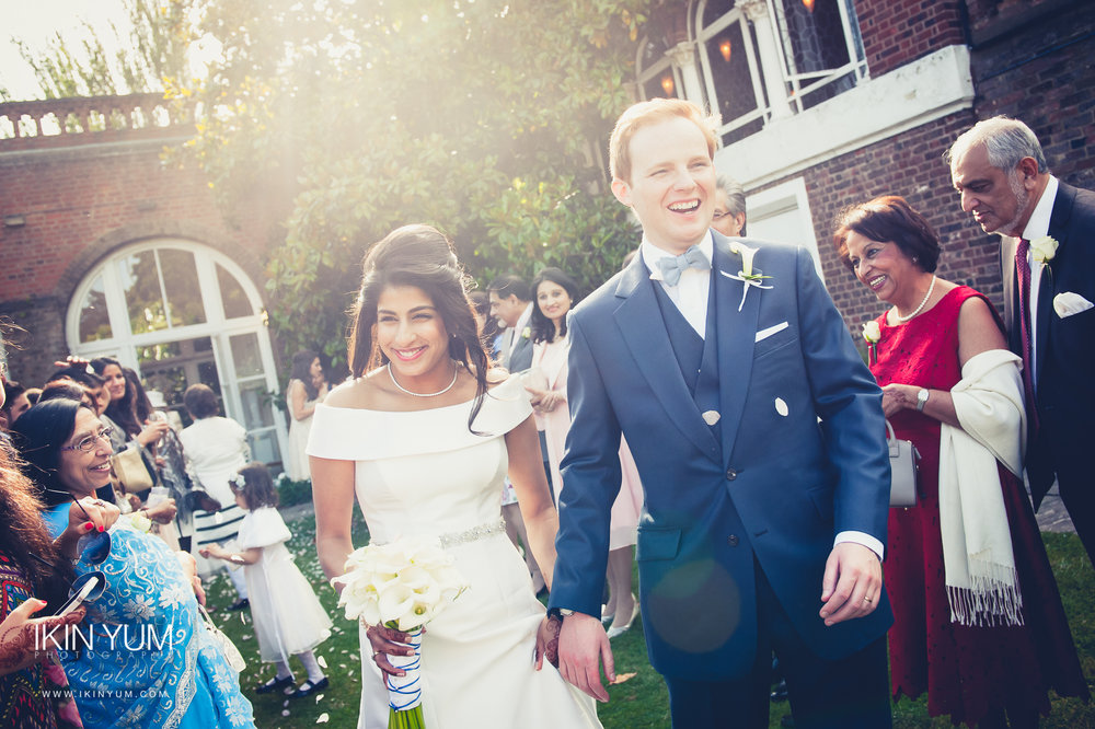 Holland Park Wedding - London Asian Wedding Photographer