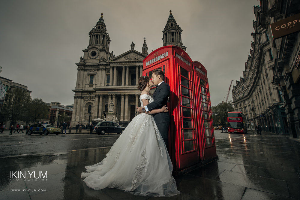 London Pre-Wedding Shoot - Chinese Wedding Photographer