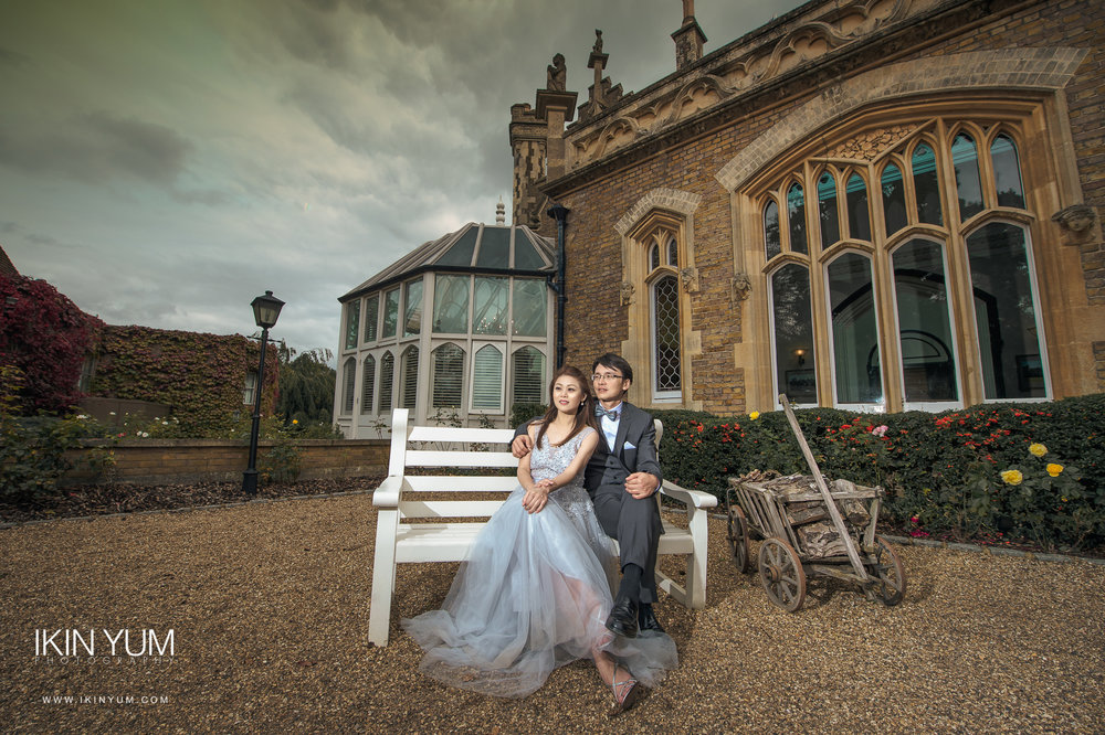 Oakley Court Windsor - Pre-wedding shoot - London chinese wedding photographer