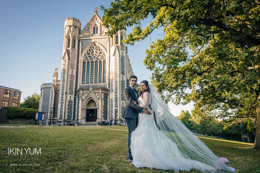 The Sacred Heart Church Wedding , Wimbledon -  Asian Wedding Photographer