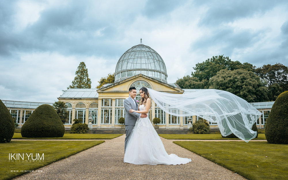 Syon Park Wedding - Chinese Wedding Photographer -  英国伦敦 婚礼 摄影