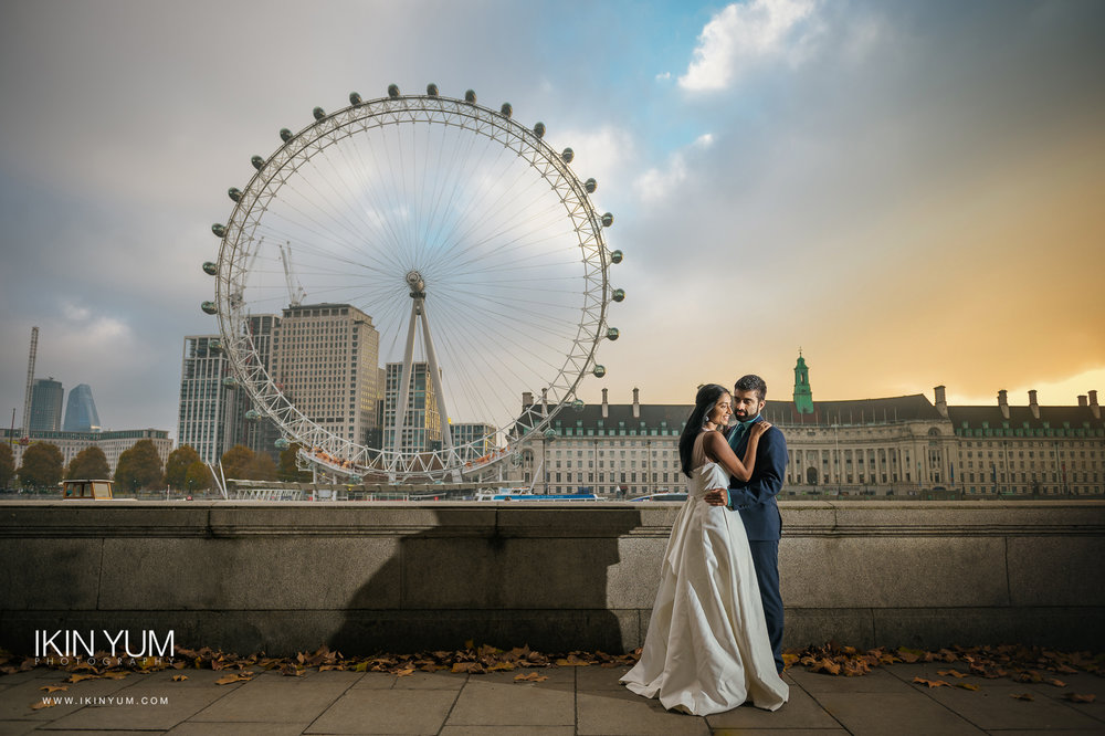 Pre-Wedding Shoot London - Chinese Wedding Photographer
