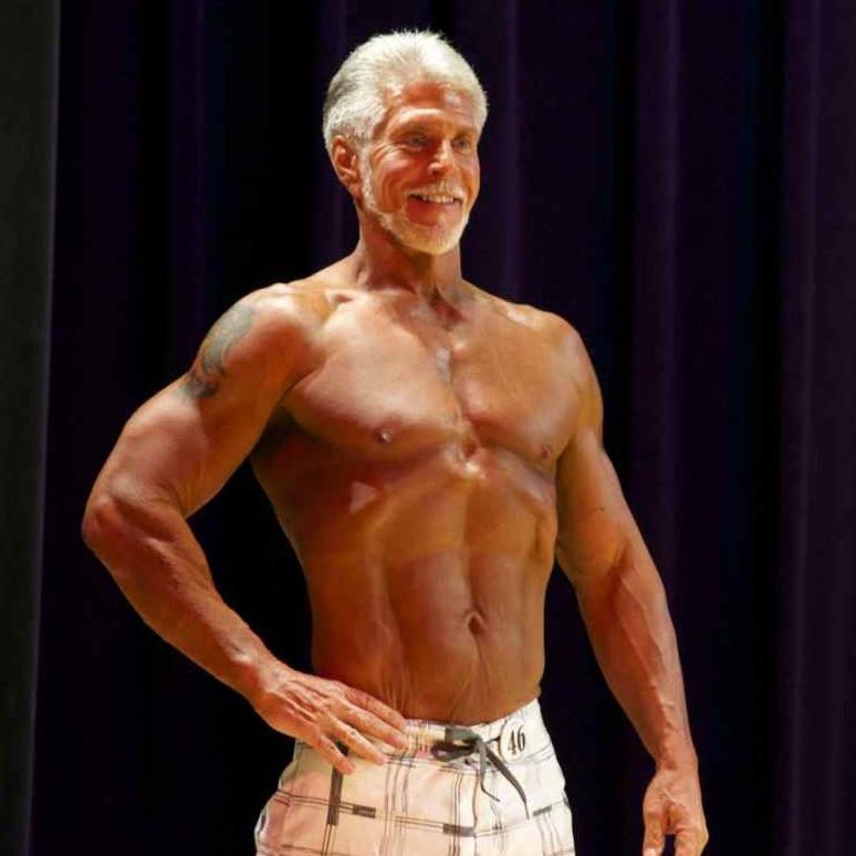 brad ward - master's physique