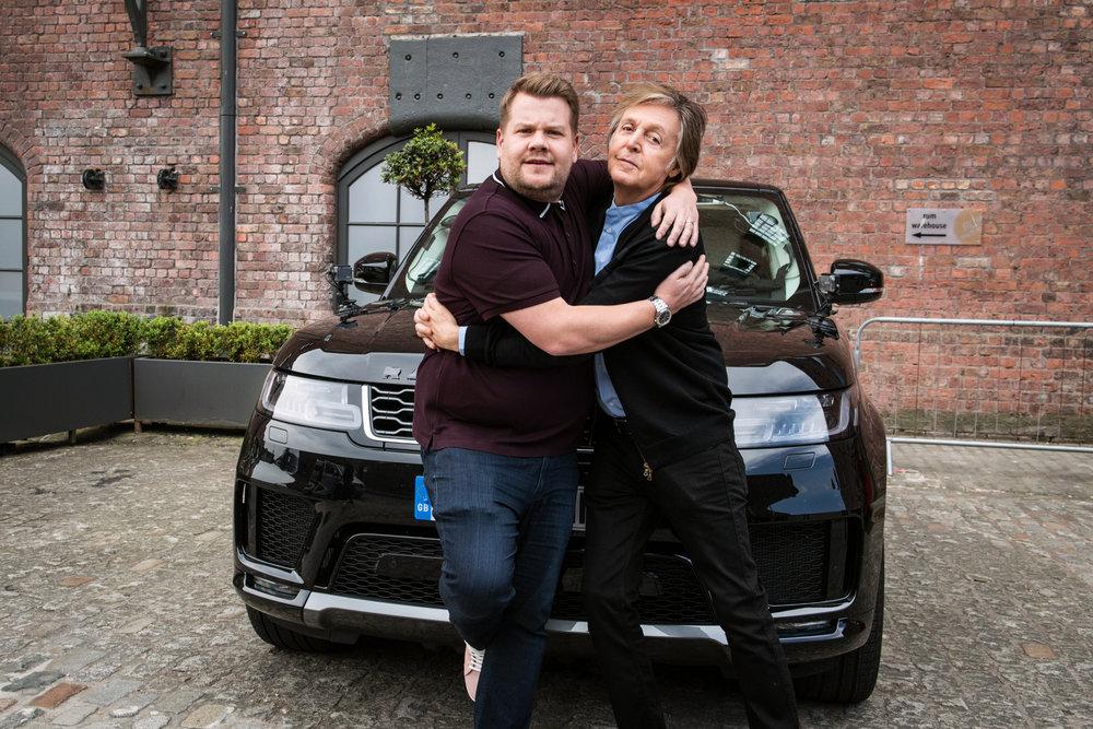 Paul McCartney Carpool titanic