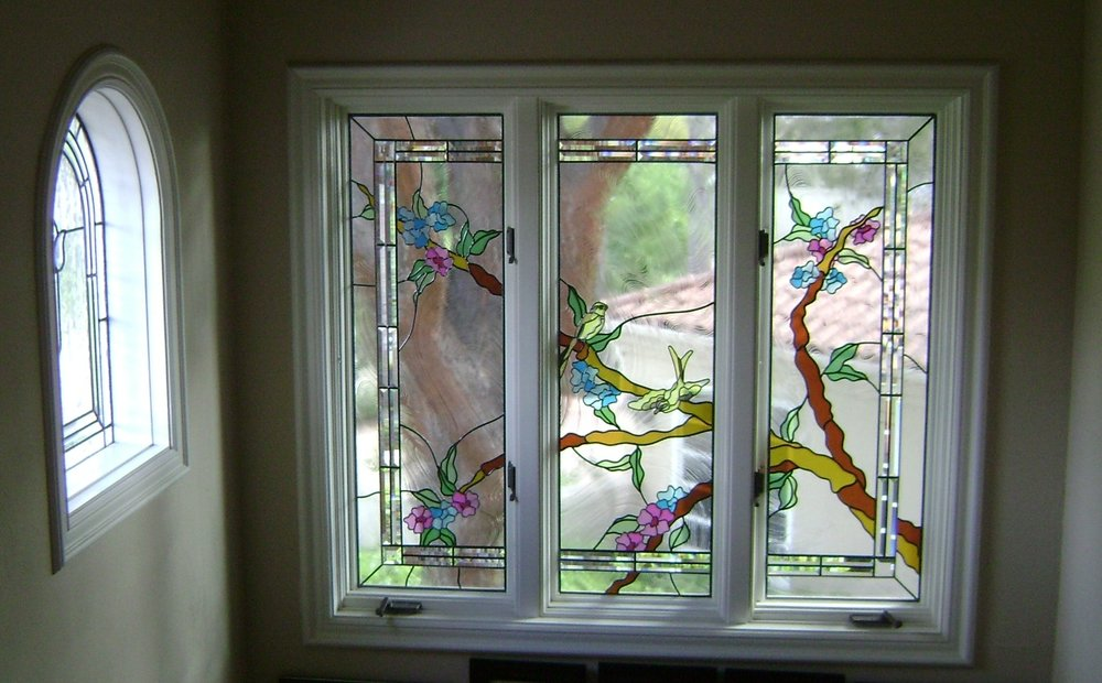 3 panel continuous branch window
