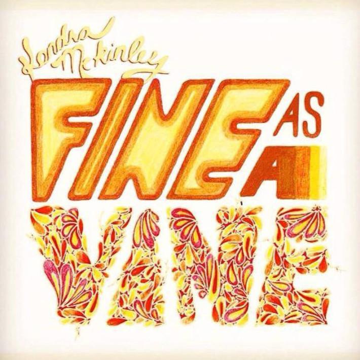 Fine as a Vine art