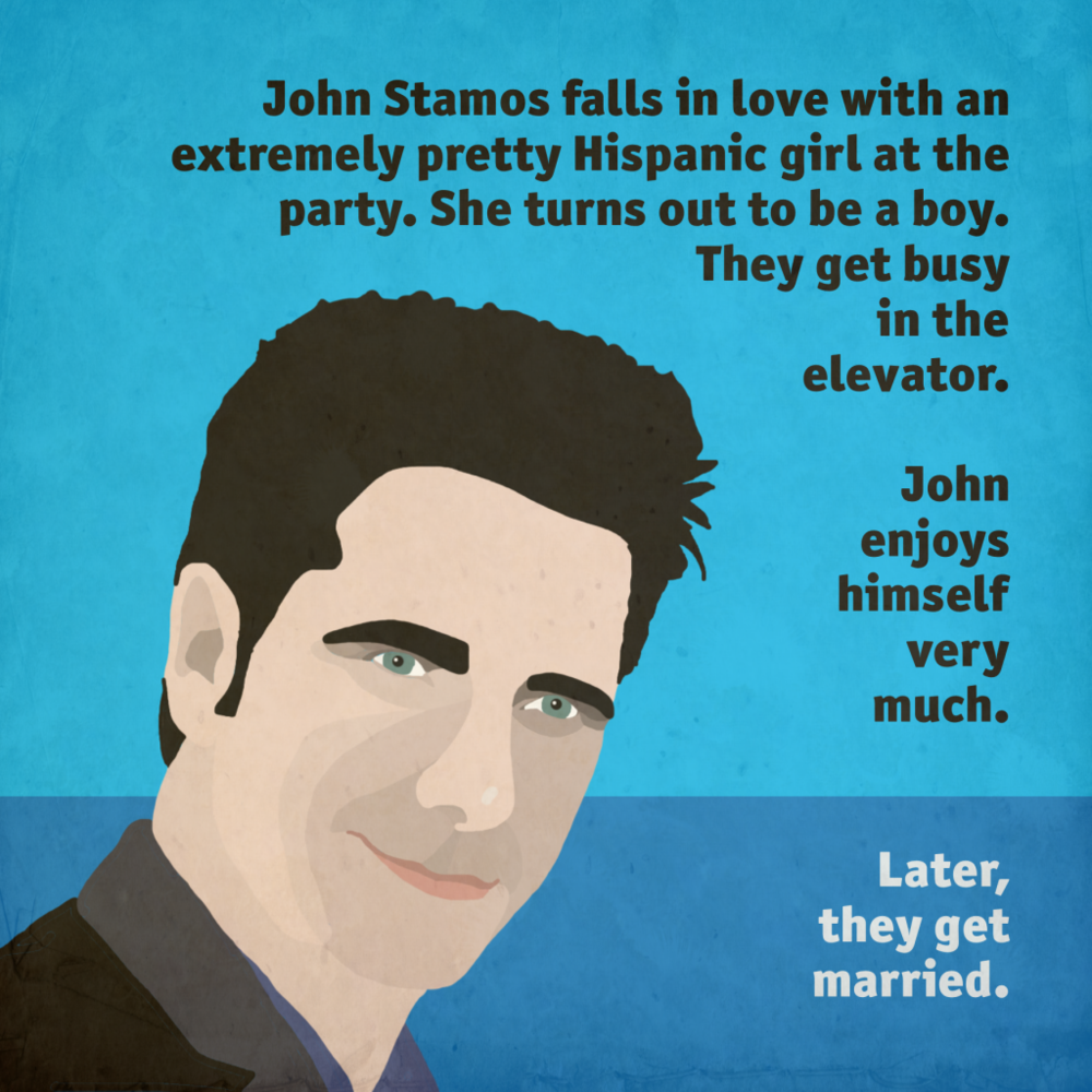 John Stamos Gets Married
