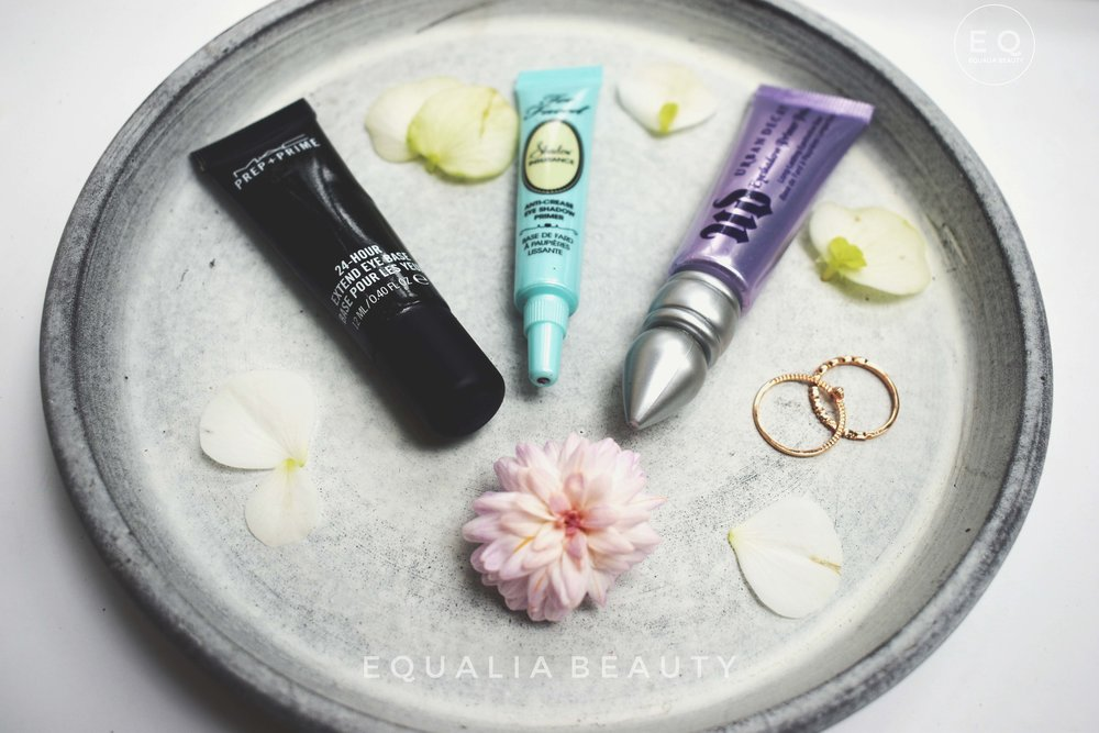 Battle of the eyeshadow primers -