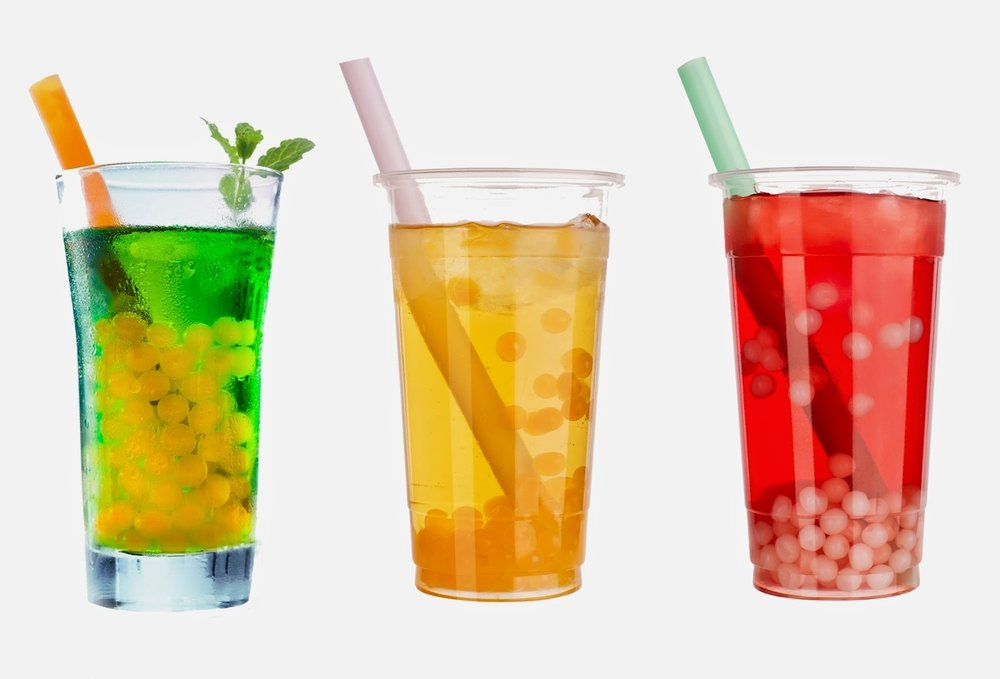 Flavored Tea with Popping