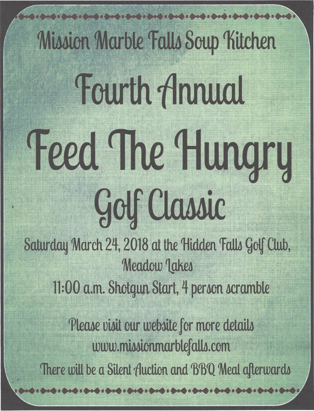 2018 Feed the hungry flyer.jpg