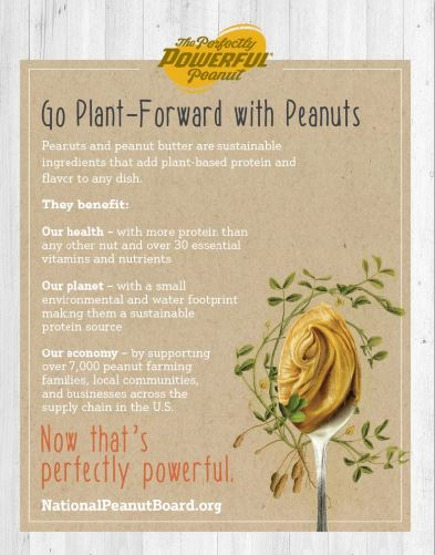 Go Plant-Forward with Peanuts