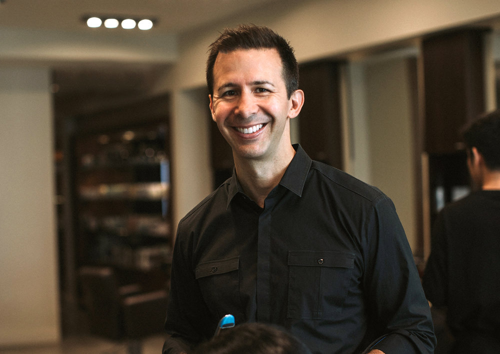 George Gonzalez / Owner, salon director and stylist