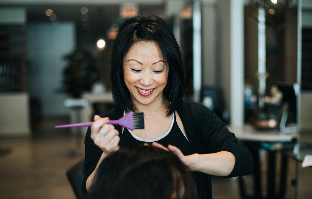 Maud Jannin / Hair stylist, colorist